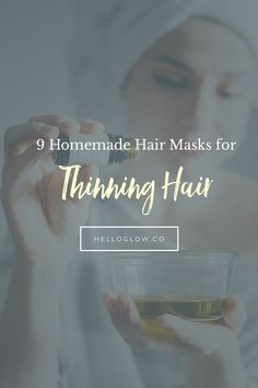 Scalp Remedies 9 Homemade Hair Mask recipes to soothe your scalp, stimulate new hair growth and give you fuller, thicker strands. These natural remedies really work! Biotin For Hair Loss, Oil For Hair Loss, Hair Loss Shampoo, Biotin Hair, Hair Mask For Growth, Hair Remedies For Growth, Hair Loss Remedies, Diy Hair Mask, Hair Masks