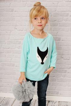 Pullover & Sweatshirts - SZARA SOWA 86/98 - ein Designerstück von DotLife bei DaWanda
