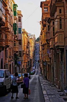 Valletta by Luca Zanibellato on Tourism Marketing, Malta, Street View, Island, Travel, Malt Beer, Viajes, Islands, Destinations