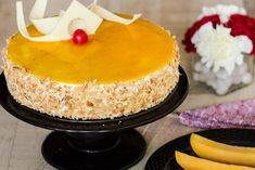 This Summer, Bake The Mango Mirror Cake To Satiate The Mango Cravings #Summer #MangoMirrorCake #MangoCravings #FoodandDrink https://www.onlinefigure.com/bake-the-mango-mirror-cake/