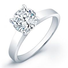 Stunning Solitaire Engagement Ring, Basket Set Lucida Style Round Center Stone >>> Very kind of you to have dropped by to visit the picture. (This is our affiliate link) Round Solitaire Engagement Ring, Best Engagement Rings, Beautiful Engagement Rings, Diamond Solitaire Rings, Eternity Ring, Stone Jewelry, Round Diamonds, Wedding Rings