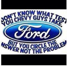 Ford vs chevy