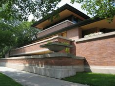 Casa Robie 1908-1909, Hide Park, Chicago (Illinois)