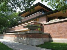 Casa Robie 1908-1909, Hide Park, Chicago (Illinois)