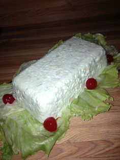 This is perhaps the typical Lime Jello Salad however I have always found it is just a little different than most. The other oddity is for every ingredient you use 1 cup. This is really yummy and I make often. My son loves loves this one.