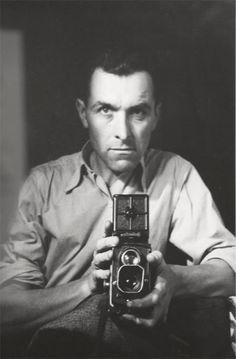 Robert Doisneau with Rolleiflex