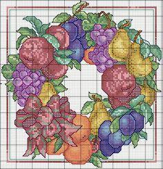 Eterna Wreath pattern- advanced pattern.