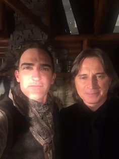 I could do every scene with @robertcarlyle_ and be happy. #OUAT #OnceUponATime #btspics