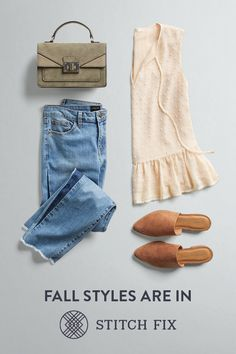 """"""" to a Personal Stylist with Stitch Fix and make this your most stylish season yet. We'll send you 5 perfect pieces to try on at home. Keep your favorites and send back the rest. Shipping, returns and exchanges are always free. Yoga Beginners, Fall Outfits, Casual Outfits, Cute Outfits, Summer Outfits, Mode Style, Style Me, Stitch Fix Outfits, Stitch Fix Stylist"""