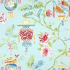 blue chinoiserie - Google Search