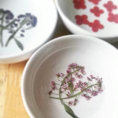 Flower dishes  #kateemarie