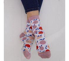 Dámske ponožky s potlačou ovocia, 1 pár   blancheporte.sk #blancheporte #blancheporteSK #blancheporte_sk #newcollection #novakolekcia #kolekcia #farby #oelwein #jar Lingerie, Socks, Fashion, Spring Summer Fashion, Knee Highs, Trending Fashion, Moda, Fashion Styles, Sock