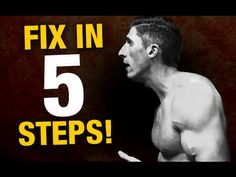 Perfect Posture in 5 Steps (BAD POSTURE BUSTER!) - YouTube