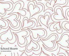 www.myquilter.blogspot.com: IQ Patterns- Feathers or Hearts