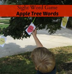 {Sight Word Game} Apple Tree Words