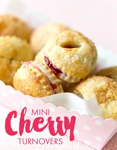 Warm Weather Recipe: Mini Cherry Turnovers - Homes.com
