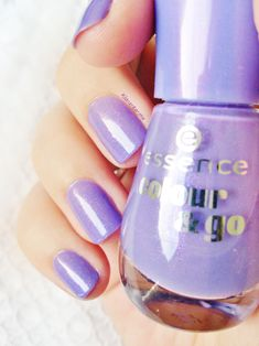 Essence : Oh my glitter Nail polish Challenge : Wear all my polishes before buy new bottles ^^ Manicure Colors, Nail Manicure, Toe Nails, Pedicure, Essence Nail Polish, Classy Nails, Elegant Nails, Nail Pictures, Great Nails
