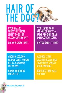 A great little facts sheet from Alcohol Concern! #AlcoholFacts #Alcohol