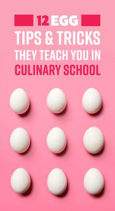 culinary cooking learned tricks school egg 12 in i 12 Egg Cooking Tricks I Learned In Culinary SchoolYou can find Culinary arts lessons and more on our website Sashimi, Food Network, Wallpaper Food, How To Cook Eggs, Cooking School, Baking Tips, Baking Hacks, Culinary Arts, Culinary Chef