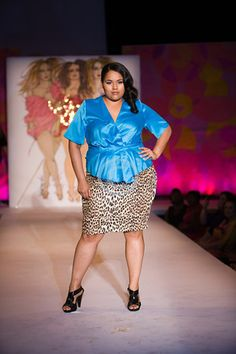 Full Figured Fashion Week™ Indie Designer Spotlight: Chinoo Designs http://www.chinoodesigns.com/