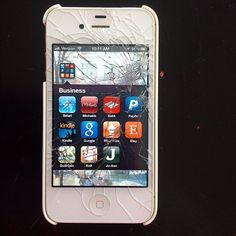 Just in case if I ever decide to buy an iphone. I can almost guarantee that this would happen to it with my luck. How to fix a crack iphone screen for $35