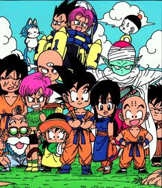 Chibi DBZ characters