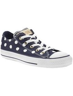Chuck Taylor All Star Polka Dot Converse Sneakers, Dress With Bow, Chuck Taylor Sneakers, Cute Shoes, Me Too Shoes, New Shoes, Chuck Taylors, Mekkah, Bad Memories