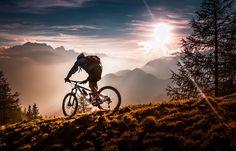 Mountain Bike Off-road Cycling Art Fabric poster 20 Mountain Biking, Riding Mountain, Best Mountain Bikes, Sky Mountain, Mountain Bicycle, Off Road Cycling, Cycling Art, Road Bike, Cycling Jerseys