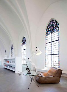 Converted church....