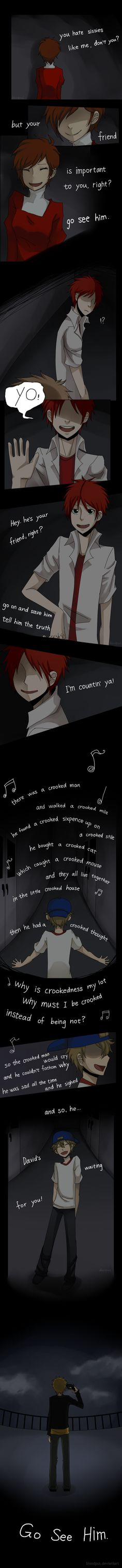 The crooked man by Bloodpus.deviantart.com on @DeviantArt