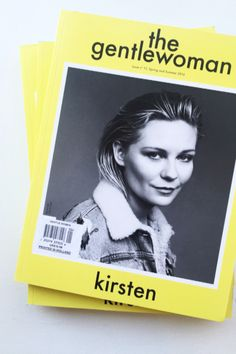 She's here. She's zesty. The Gentlewoman launches into Spring and Summer 2016 with its thirteenth edition starring the sparkling American actress Kirsten Dunst on the cover. About The Gentlewoman The