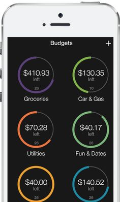 WellSpent iPhone budgeting app... Will be helpful in a few months when I have to start being an adult