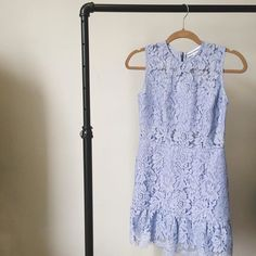 The Felicia Periwinkle Lace Dress from @karina_grimaldi is the perfect frock for any springtime event  #ootd #dress #lace #spring #style #dcfashion #newarrival #refineyourstyle #shoprefine #happytuesday