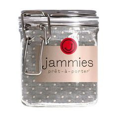 Jammies - Baby Clothes Packaged in a Jam Jar. Luxurious clothing in reusable packaging! Jammies Pret-a-porter. | Jammies Prêt-à-Porter