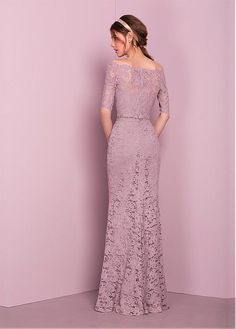 Find your dream bridesmaids, prom dress or bridal on our kelsey rose collection page Lilac Grey Bridesmaid Dresses, Lilac Dress, Dress Brukat, Kebaya Dress, Kebaya Brokat, Chiffon Dress, Trendy Dresses, Nice Dresses, Fashion Dresses