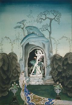 Kay Nielsen, The Faun, watercolour and bodycolour, Kendra and Allan Daniel Collection