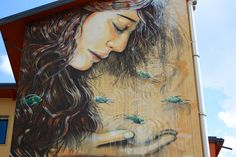 New From Alice Pasquini: Trentino, Italy | Wooster Collective