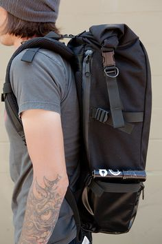 http://www.etsy.com/listing/94220473/roll-top-backpack-commuter-black-cordura