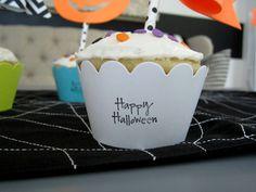 Design Sprinkle: Halloween Party Ideas#NightmareBeforeChristmas #Cupcakes