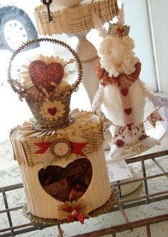 bricolage: sweet Valentine box