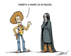 Toy Story meets Harry Potter...