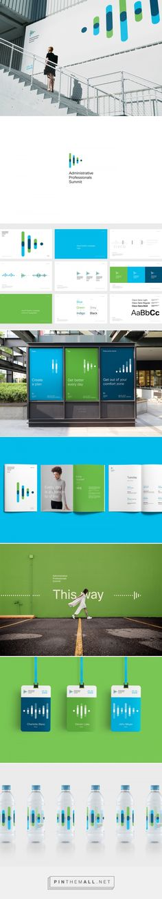 Cisco APS 2018 on Behance. - a grouped images picture - Pin Them All Brand Identity Design, Corporate Design, Branding Design, Logo Design, Event Branding, Logo Branding, Logo Inspiration, Logos, Web Design Mobile