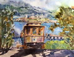 """San Francisco"" by E. Kuldaeva"