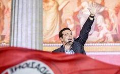 Con Tsipras la sberla democratica della Grecia all'Ue, a Renzi e alla Merkel #tsipras #politica #grecia