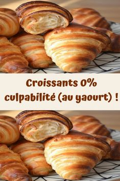 Croissants 0% culpabilité (au yaourt) ! – Toutes recettes Healthy Breakfast Recipes, Lunch Recipes, Healthy Dinner Recipes, Crockpot Recipes, Croissants, Organic Cooking, Healthy Smoothies, My Favorite Food, Afternoon Tea