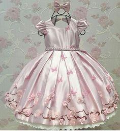 Baby Girl Party Dresses, Little Girl Dresses, Baby Dress, Flower Girl Dresses, Gowns For Girls, Frocks For Girls, Girls Dresses, Cute Dresses, Beautiful Dresses