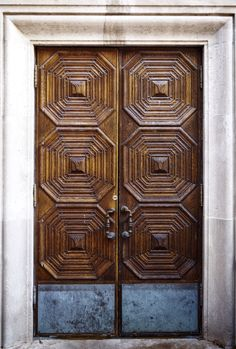 Cranbrook doors, Bloomfield Michigan  rochephoto.com Main Entrance Door, Entry Doors, Front Doors, Windows And Doors, Wooden Door Design, Wooden Doors, Unique Doors, Building Materials, Glass Design