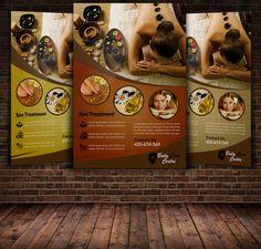 Spa Beauty Flyer Template by Leza on Creative Market