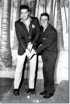 Elvis Presley & Gary Player