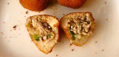 Coxinha, a delicious Brazilian treat.